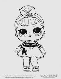 Lol Dolls Coloring Pages Printables Pinterest I Love You Baby New