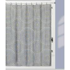 capri shower curtain with matching bath rug made from 100 cotton