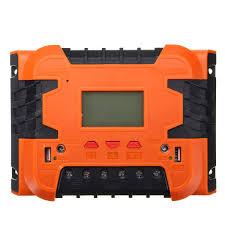 <b>PWM</b> 12V/24V <b>Solar</b> Charge Controller Battery Charging LCD ...