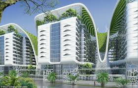 architectural buildings. Unique Buildings Called The Gate Residence The Project Was Designed By Architect Vincent  Callebaut And Will And Architectural Buildings A