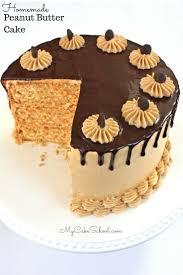 Light Peanut Butter Cake Peanut Butter Cake My Cake School