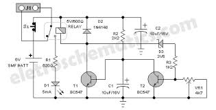 battery guard for emergency lights emergency lights guard circuit diagram