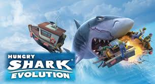 shark attack mobile games android iphone ipad windows hungry shark evolution