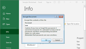 Encrypted Excel Files How To Protect Unprotect Excel File Workbook Sheet Cells