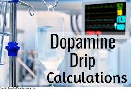Dopamine Iv Drip Calculation Practice Mcg Kg Min