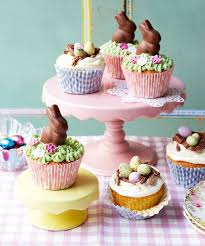 Cupcake Decorating Accessories Easter Cupcakes Ideas and Recipe Diy Land 10