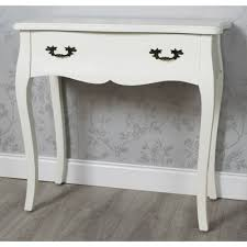 cream console table. Emily 1 Drawer Console Table Cream T