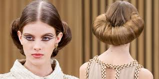 Chanel Hair Style the best beauty looks from haute couture spring 2016 spring 2016 7457 by stevesalt.us