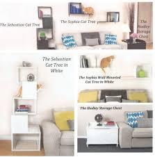 wall mounted cat furniture. DESIGNER Pet Products The Sophia 14\ Wall Mounted Cat Furniture
