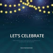 Celebration Parade Invitation Template Download Free