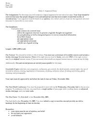 Mla Style Essays Argument Essay Outline Format Mla Cover Letter