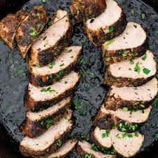 perfect pork tenderloin jo cooks