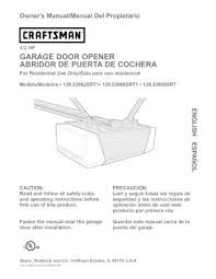 craftsman 1 2 hp garage door opener wiring diagram craftsman craftsman 1 2 hp garage door opener manual simple as garage door on craftsman 1 2