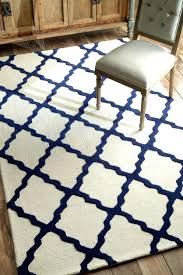 decor beautiful navy blue area rug for your home com and tan bath rugs