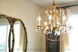 diy crystal chandelier floor lamp kit ceiling fan chandeliers creative lamps 3 home improvement engaging note