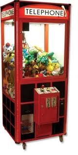 Stuffed Animal Vending Machine Interesting Telephone Toy Plush Crane 48 Claw Machine How Did I Get Where I