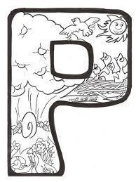 Disegni Per Bambini Scritta Primavera Da Colorare