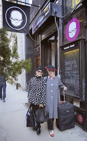 first with the help of the staff we had a look at the vast selections at both the williamsburgh and manhattan branches carly and delcey took charge of