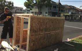 Small Picture LA man builds a house for homeless woman on his block Daily Mail