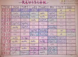 Quick Schedule Maker Revision Timetable School Timetable Gcse Revision School