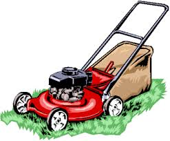 push lawn mower clipart. lawn mowing cartoons push mower clipart