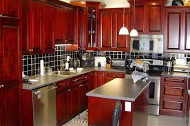 cherry kitchen cabinets. make your kitchen pop with cherrywood cabinets best las vegas water cherry