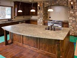 kitchen types countertops for with traditional theme materials types of countertops