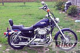 1999 harley davidson sportster 1200 custom specifications and pictures