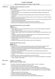 Incident Management Resume Example Incident Response Analyst Resume Samples Velvet Jobs 6