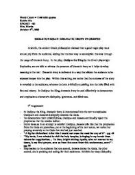 oedipus rex expository essay oedipus the king a proof academic essay sample