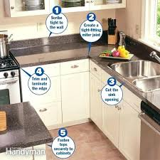 replacing kitchen countertops how to install a replacing kitchen worktops diy
