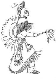 Native American Indian Coloring Books And Free Coloring Pages