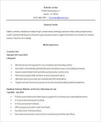 Resume For High School Interesting Resume High School Template 48 Best Student Sample Resume Templates