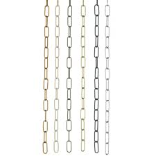 suspension chain antique brass link chain for chandeliers and other light fittings