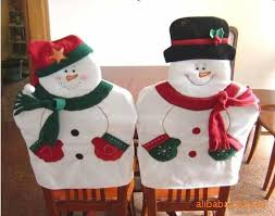 household dining table set christmas snowman knife: christmas box decoration picture more detailed picture about lovely christmas chair covers mr amp mrs santa claus christmas decoration dining room chair