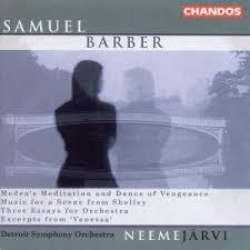 barber first essay for orchestra op page of presto neeme jatildecurrenrvi conducts barber