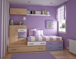 Bedroom:Outstanding Purple Bedroom Decorating Ideas For Girls With Wooden Storage  Bedroom Contemporary Small Girls