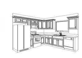 Laying Out Kitchen Cabinets Kitchen Layout Idea But Fridge Where Dishwasher And Upper Cabinet