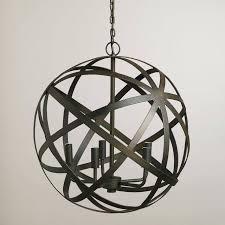luxury 39 best home lighting chandeliers orb images on for metal orb chandelier metal