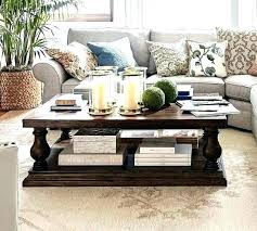 pottery barn tanner coffee table pottery barn tanner coffee table rustic brown pottery barn tanner round