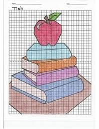 Graph Paper Drawings Easy Luxury 105 Best Mystery Grid Drawing
