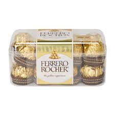 ferrero rocher chocolate gift pack 16 pack 200g