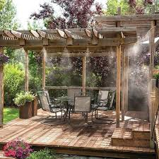 patio mister best water mister ideas on patio misting system patio mister kits