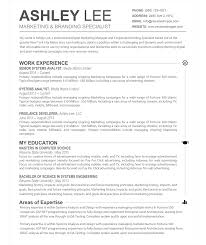 Resume Template Free Creative Modern Cv Word Cover In Resume
