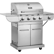 Bhg Kitchen And Bath Better Homes And Gardens Stainless Steel 4 Burner Gas Grill With