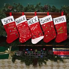 Sparkle Name Stockings