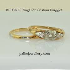 custom gold nuggets from old gold