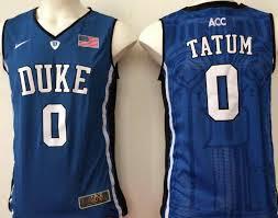 Nba Jersey Size Chart Hot Deal Duke Blue Devils 0 Jayson Tatum Navy College Nba