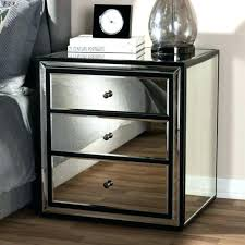 gold and glass nightstand 3 bedrooms for furniture mirrored tall chest of drawers gold glass gold and glass nightstand