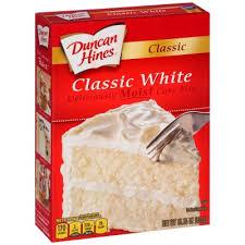 Cake Mixes Duncan Hines